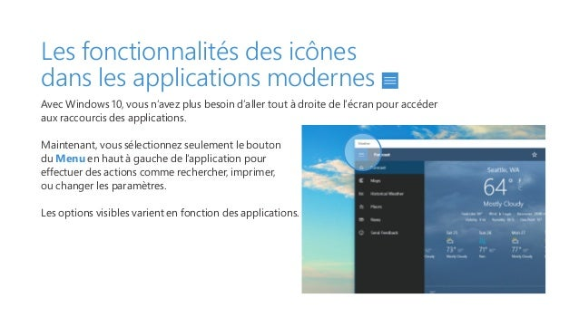 Guide utilisateur microsoft windows 10 for Reduire fenetre windows