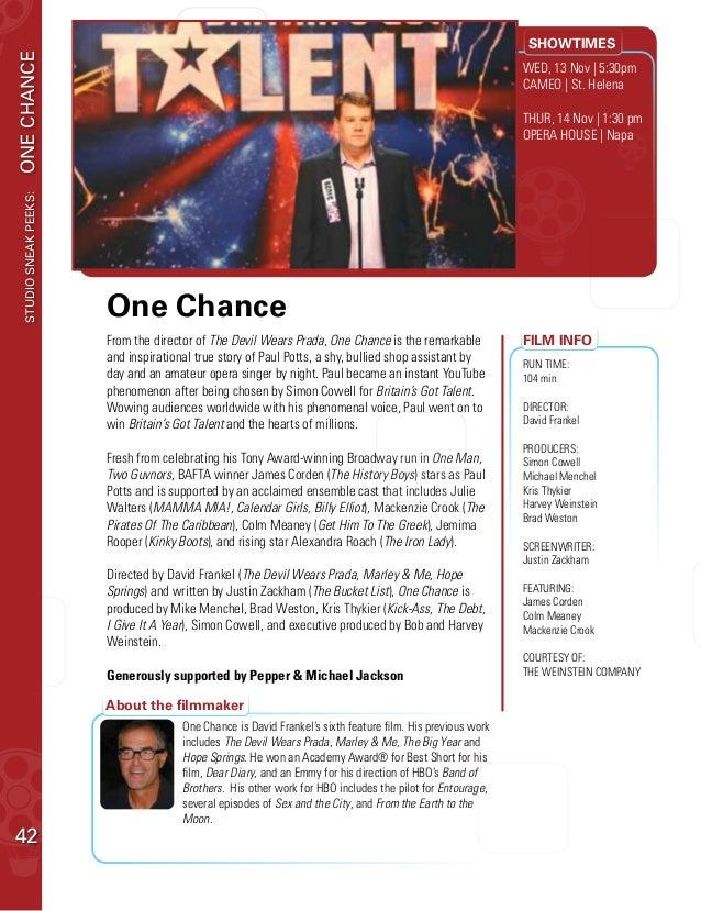 Guía web de Festival de Cine de Napa Valley - de los viajes