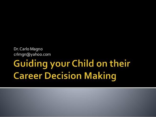 Dr. Carlo Magno crlmgn@yahoo.com