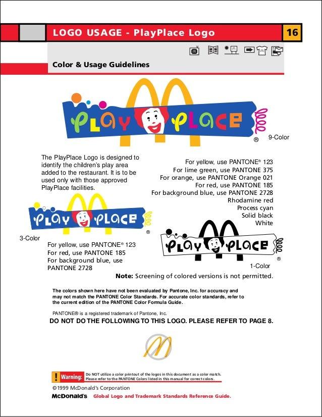LOGO USAGE - PlayPlace Logo                                                                                     16        ...