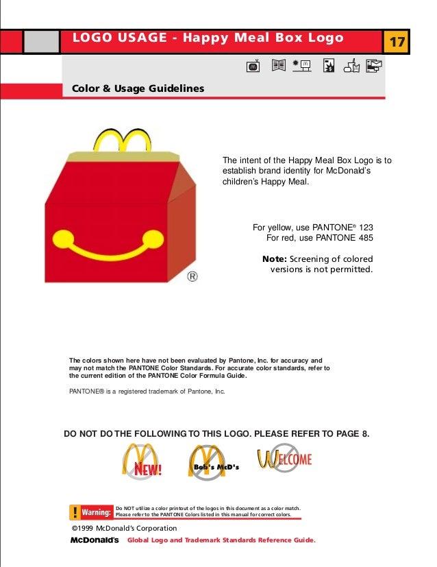 Manual de identidade visual do McDonald's