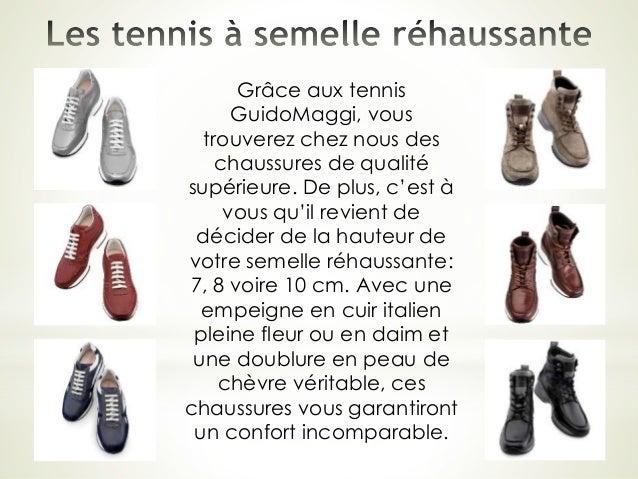 Grâce aux tennis GuidoMaggi, vous trouverez chez nous des chaussures de qualité supérieure. De plus, c'est à vous qu'il re...