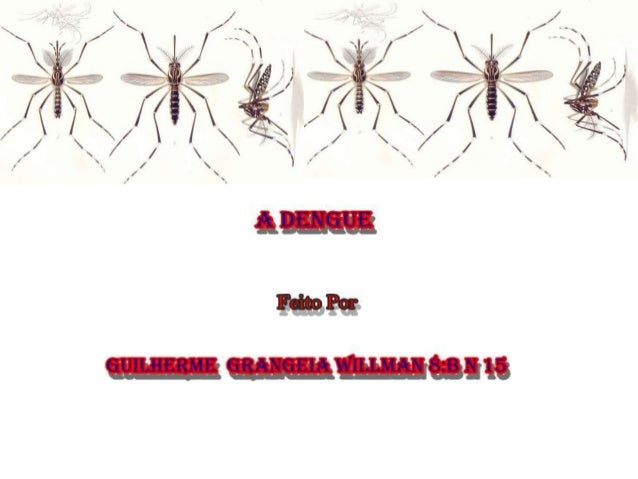 • A dengue é uma doença febril aguda causada por um vírus, sendo um dos principais problemas de saúde pública no mundo. O ...