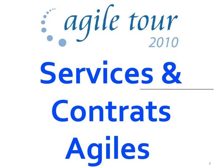 Services & Contrats  Agiles     1