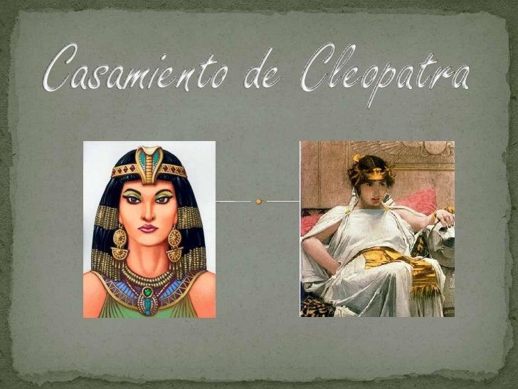 Invitan al casamiento de sus hijosCleopatra Filopator Nea TheaPtolomeo XIIIA realizarse el dia 6 de junio en la ciudad de ...