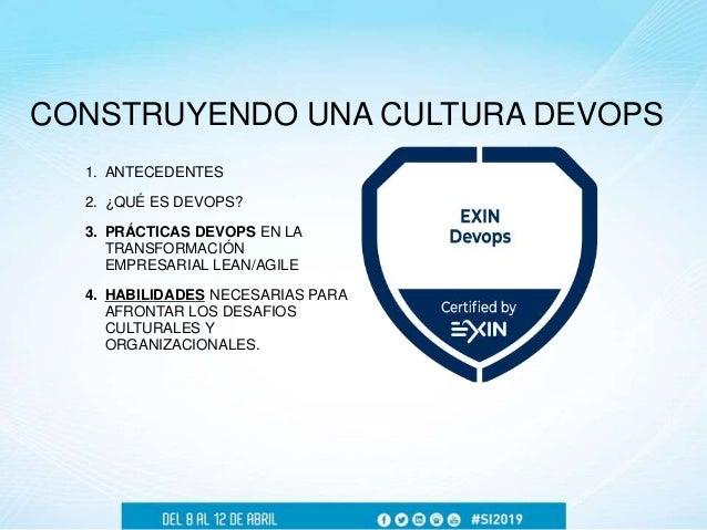 Guillermo Cortina - Construyendo una Cultura DevOps Slide 2