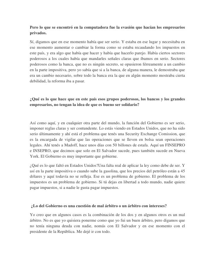 Entrevista Informativa publicada en Revista Slide 3