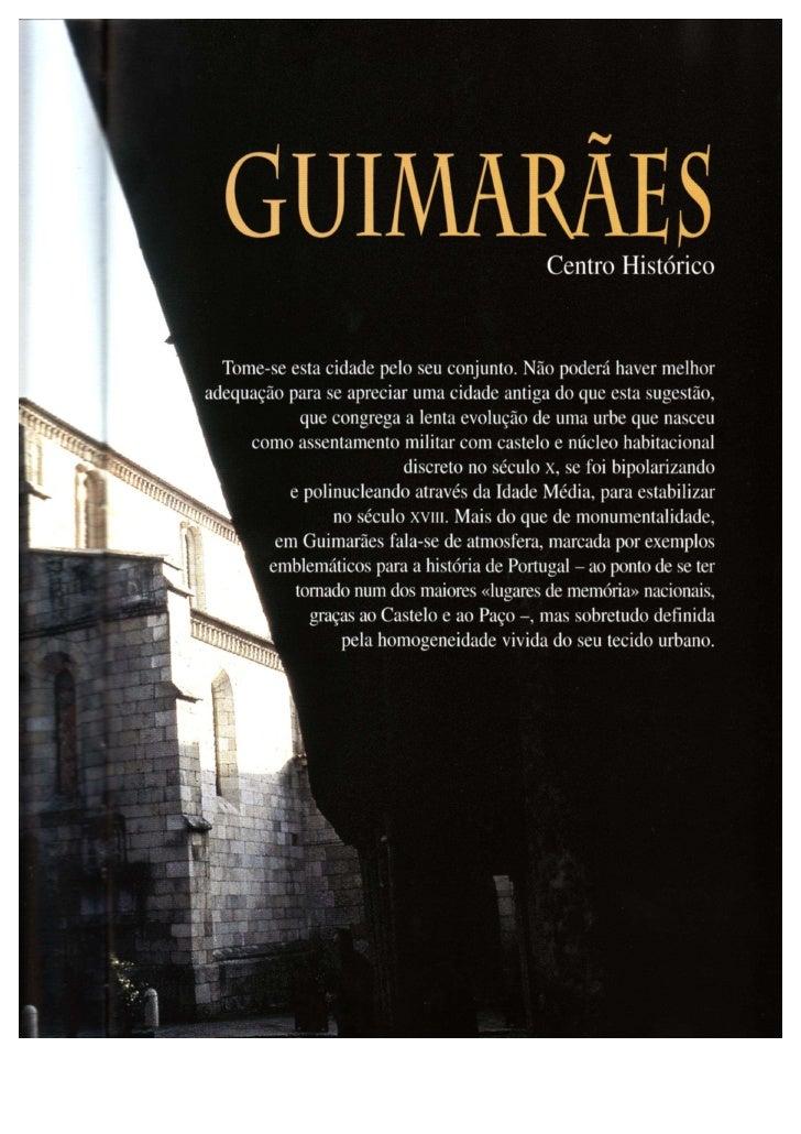 Guimarães Tesouros Artisticos Do Mundo