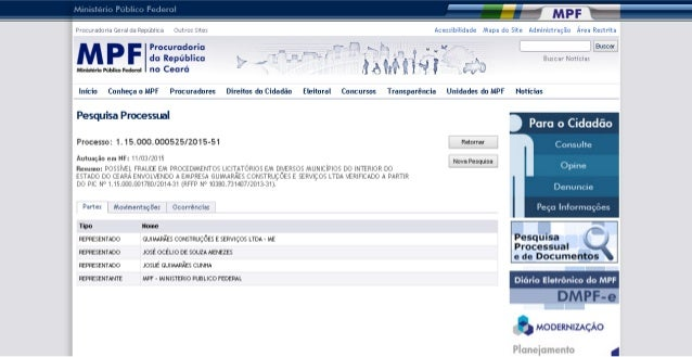 Iallm-'ífãílsamãlnqg-I-  . n  um PrüiiurãüiiitliãGeraldaRepúblllã Ciuiriziíirê:  Acessibilidade Mapa do Site Administração...
