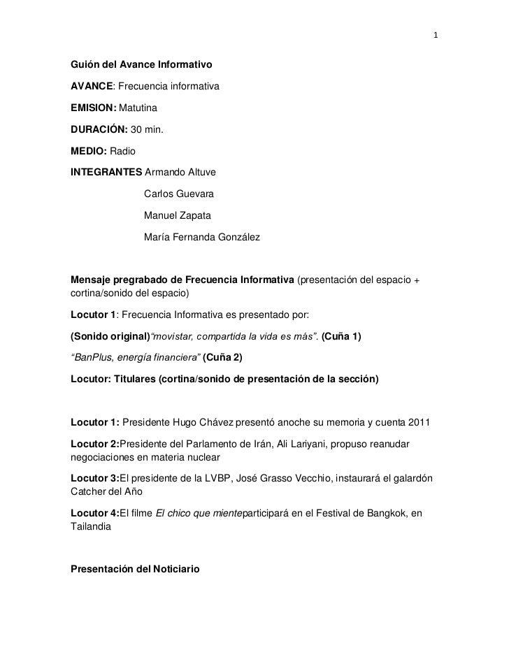 Gui N Del Avance Informativo