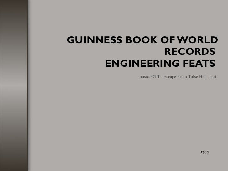 Guiness Book Of Record
