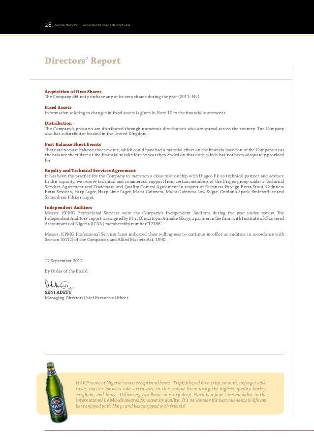 Insurance Brokers Financial Statements
