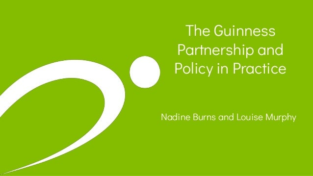 The Guinness Partnership and Policy in Practice Nadine Burns and Louise Murphy