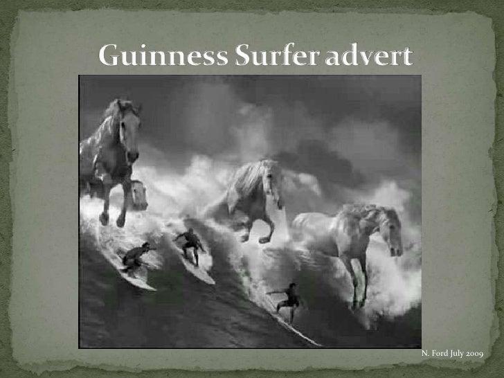 Guinness Surfer advert<br />N. Ford July 2009<br />
