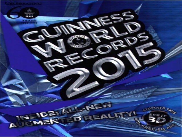 Guinness Book Of Records 2015