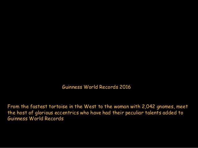 Guinnes World Records 2016 Slide 2