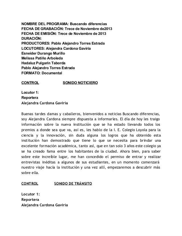 NOMBREDELPROGRAMA:Buscandodiferencias FECHADEGRABACIÓN:TrecedeNoviembrede2013 FECHADEEMISIÓN:TrecedeNoviemb...