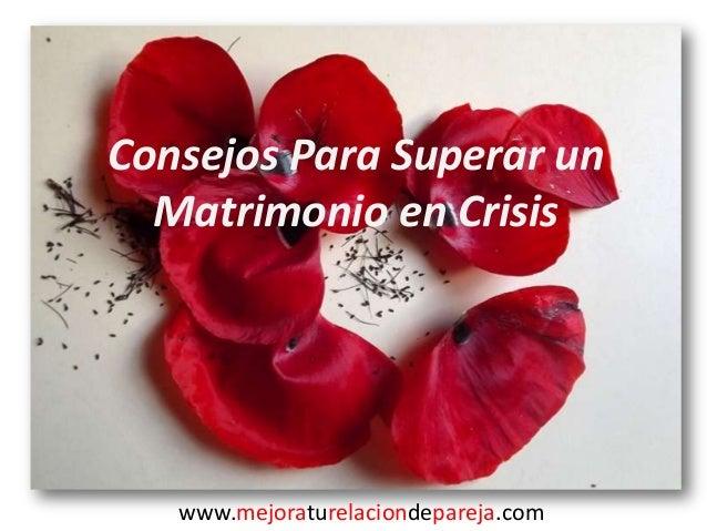 Biblia Matrimonio En Crisis : Guion consejos para superar un matrimonio en crisis