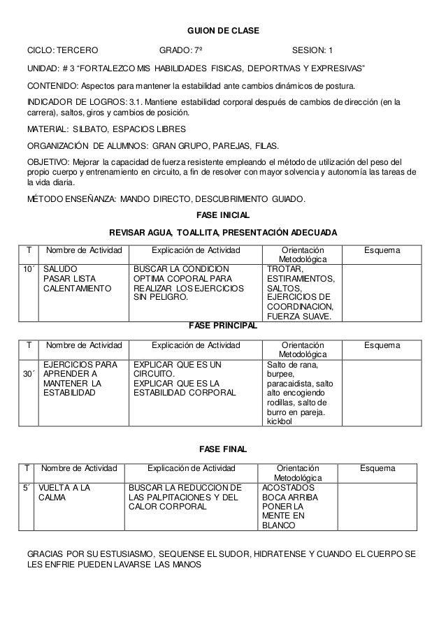 GUIÓN DE CLASE  Centro Escolar: Grado: Octavo Unidad: 1  Contenidos:  Conceptuales: La obesidad causas y consecuencias en ...
