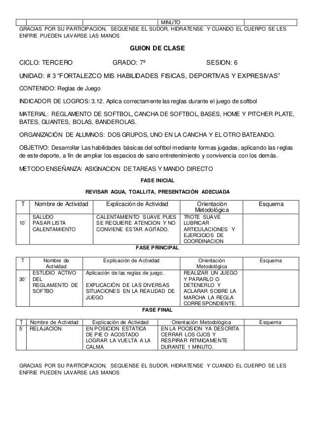 GUION DE CLASE  Centro Escolar: Grado: 8º Unidad: 2  Contenidos:  Conceptuales: El voleibol y dinámica de juego  Procedime...