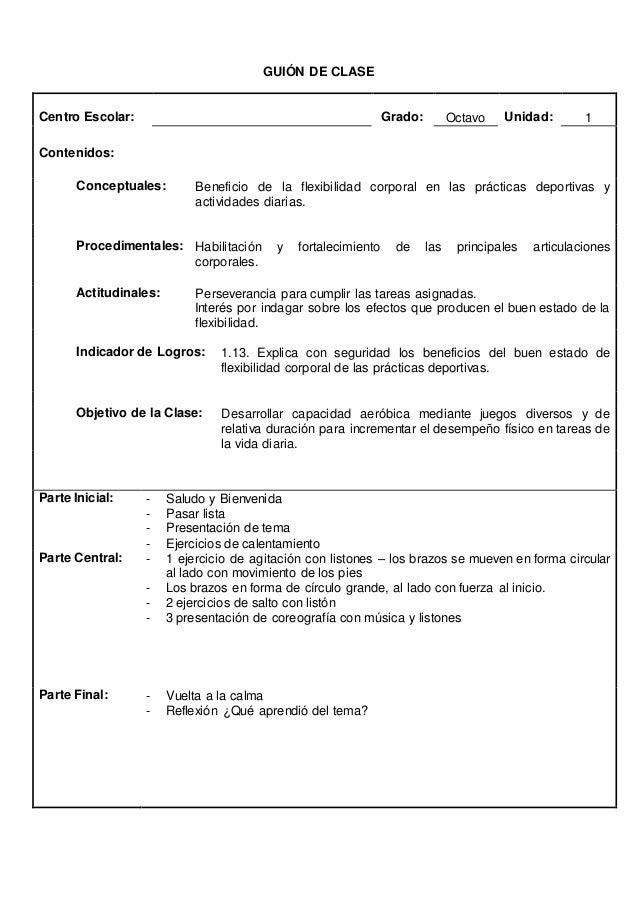 GUION DE CLASE  INSTITUCIÓN: MATERIA: EDUCACION FISICA PROFESOR(A):  CICLO: TERCERO GRADO: 9º SESION: 1 UNIDAD: 2 ME DIVIE...