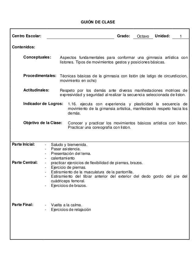 GUION DE CLASES  Centro Escolar: Grado: 9º Unidad: 2  Contenidos:  Conceptuales: El balón mano y su dinámica de juego.  Pr...