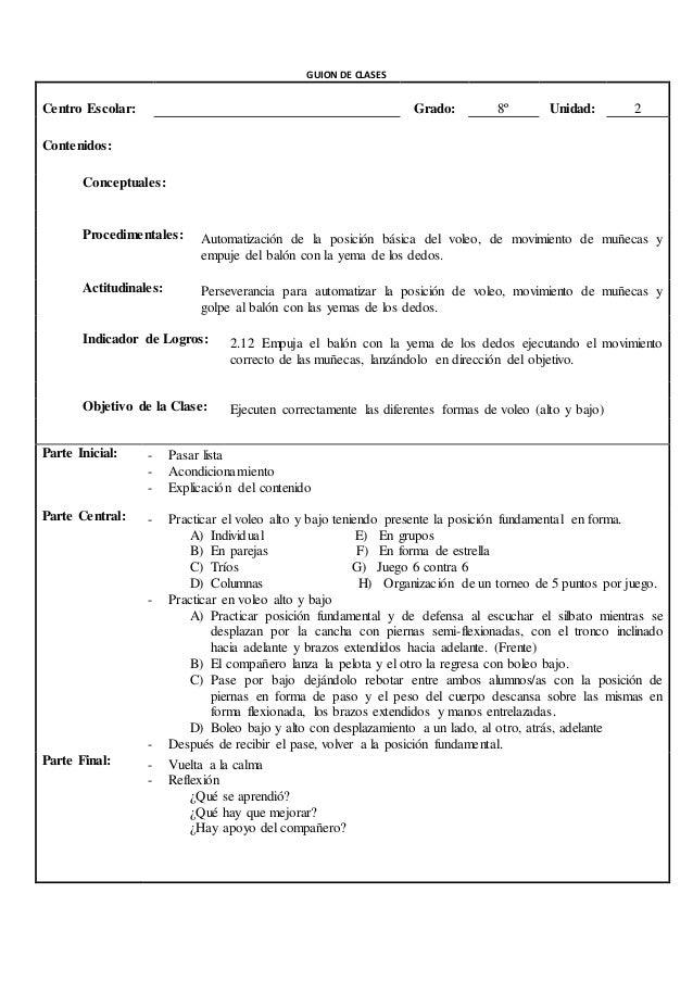 GUION DE CLASES  Centro Escolar: Grado: 9º Unidad: 2  Contenidos:  Conceptuales: Las reglas del balonmano  Procedimentales...