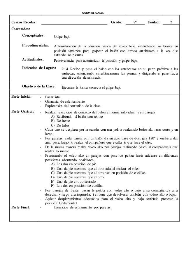 GUION DE CLASES  CICLO: TERCERO GRADO: 9º SESIÓN: ________  UNIDAD: # 3 FORTALEZCO MIS HABILIDADES FISICAS DEPORTIVAS Y EX...