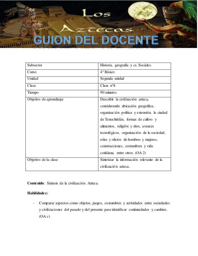 Subsector Historia, geografía y cs. Sociales.  Curso 4° Básico  Unidad Segunda unidad  Clase Clase n°8  Tiempo 90 minutos ...