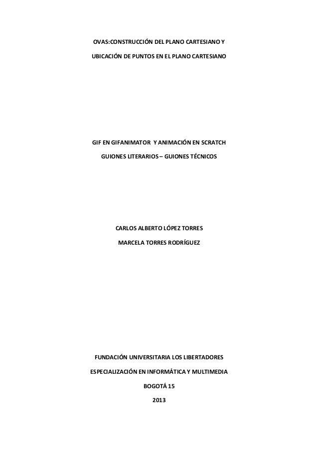OVAS:CONSTRUCCIÓN DEL PLANO CARTESIANO Y UBICACIÓN DE PUNTOS EN EL PLANO CARTESIANO  GIF EN GIFANIMATOR Y ANIMACIÓN EN SCR...