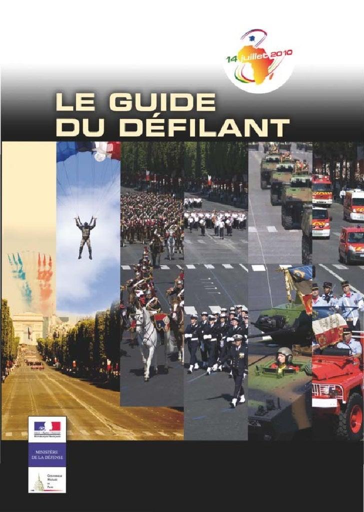 SOMMAIRE Mot du général Gouverneur Militaire de Paris ......................... p. 1    LA PRÉPARATION 1   -   Quelques ra...