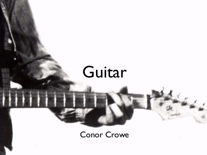 GuitarConor Crowe
