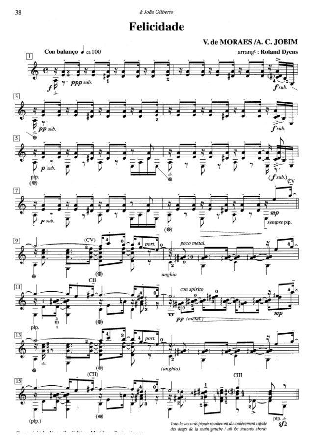 [Guitar.vn]felicidade moraes-jobim-arr-dyens