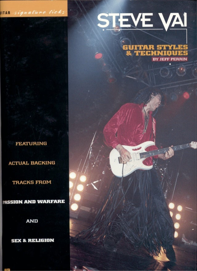 Guitar   tab book - steve vai - guitar styles & techniques(2)