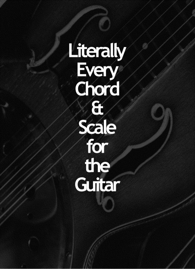 Guitar chords scales and modes