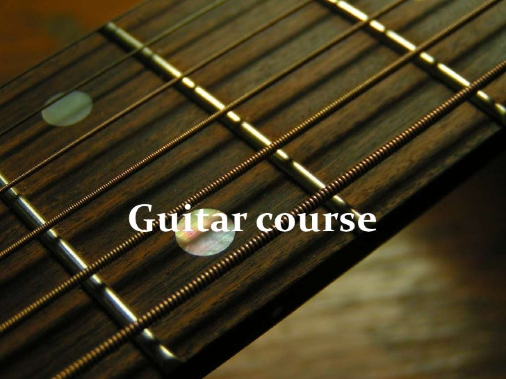 Guitar course<br />