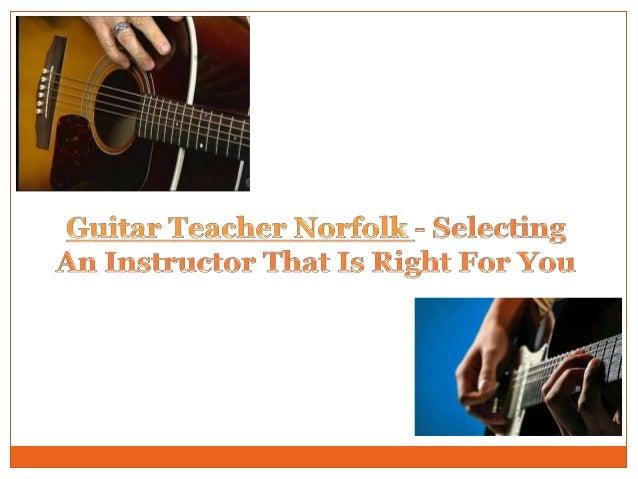 Guitar lessons Norwich Slide 2