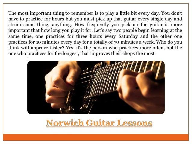 Guitar lessons Norwich Slide 3