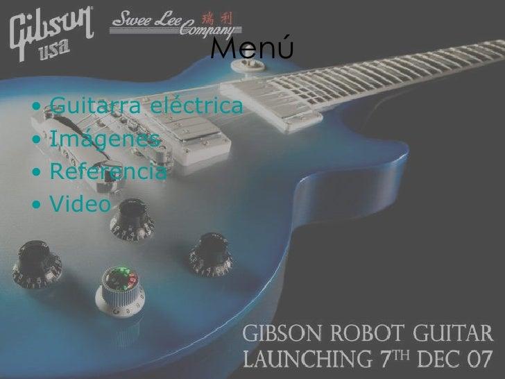 Guitarra electrica Slide 2