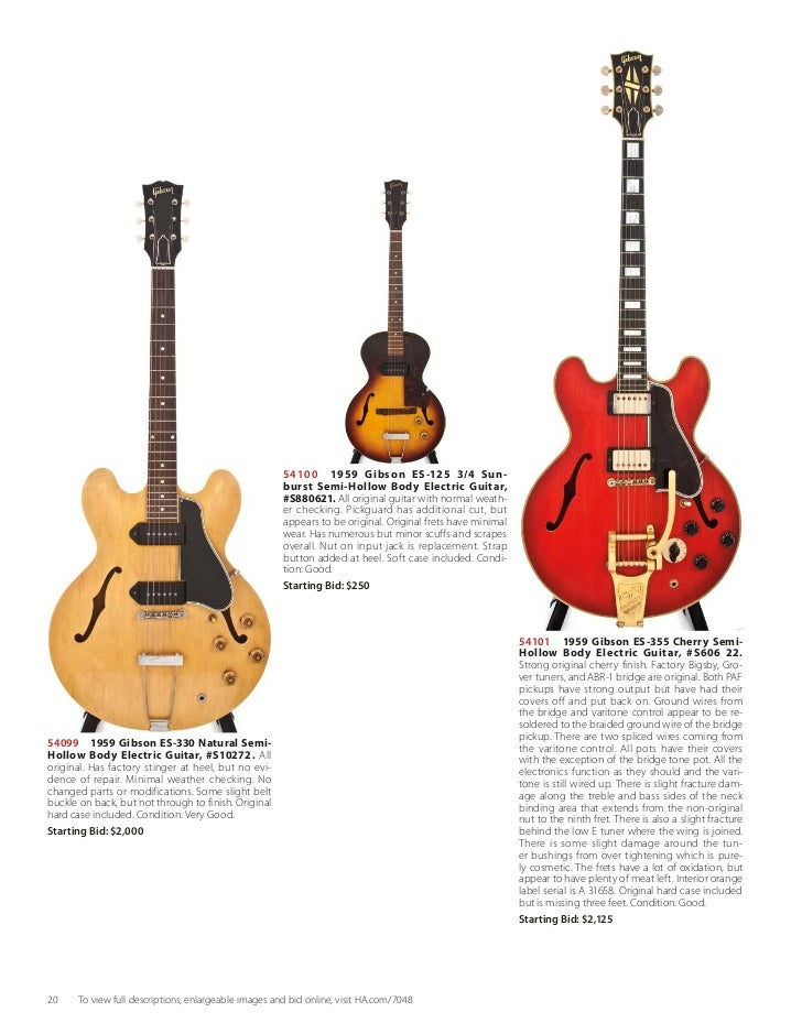 Heritage Vintage Guitars & Musical Instruments - August 20, 2011