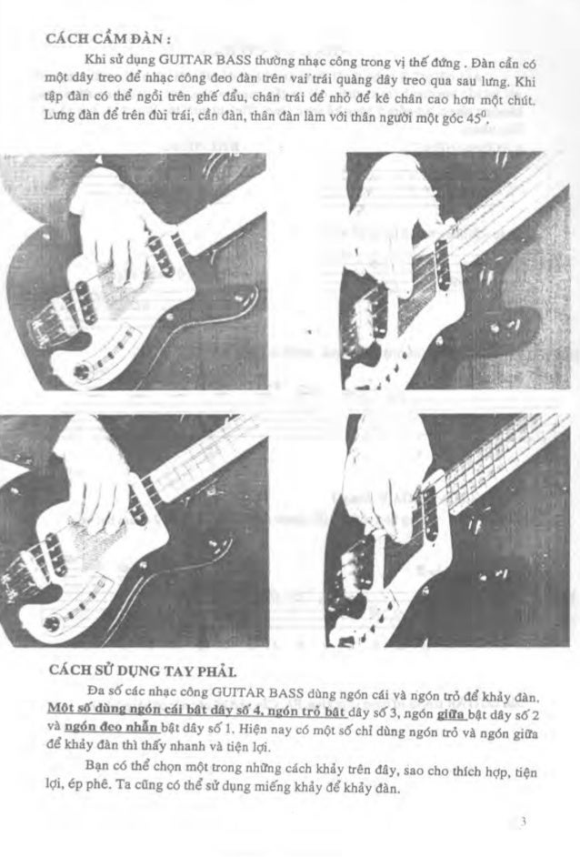 Guitar tab sheet hop am ebook tu hoc guitar bass 1 nxb tre