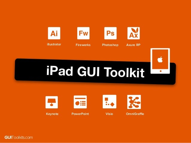 GUIToolkits: User Interface Design Toolkits for iOS, Android and Web