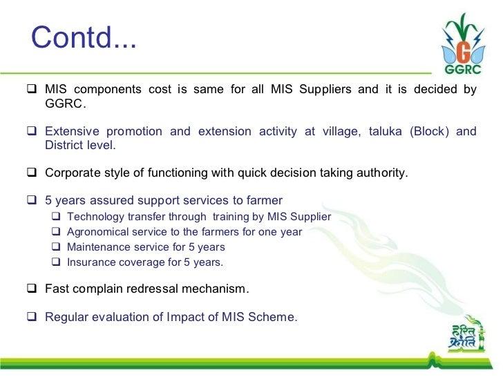 Load shifting equipment assessment report