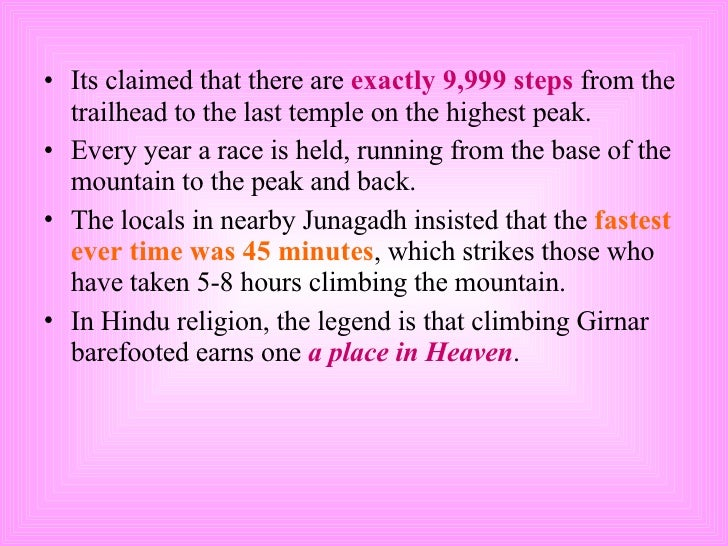 <ul><li>Its claimed that there are  exactly 9,999 steps  from the trailhead to the last temple on the highest peak. </li><...