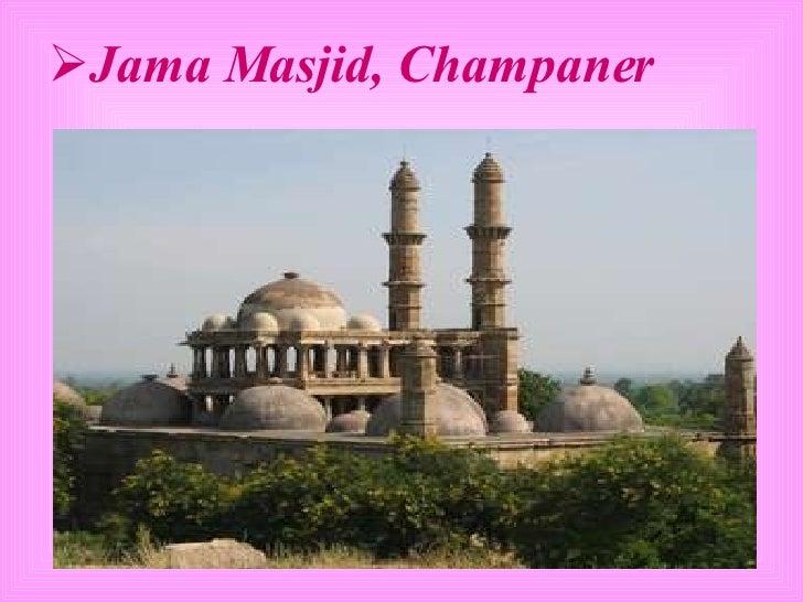 <ul><li>Jama Masjid, Champaner </li></ul>