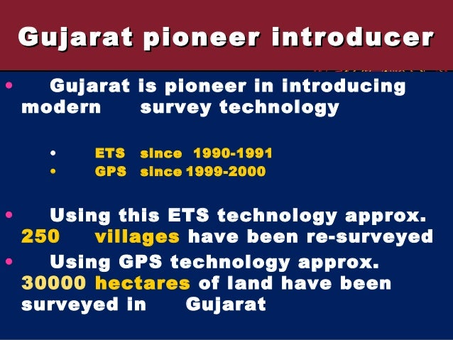 Gujarat [experinces from states]