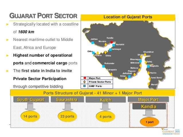 Gujarat's ports to become major drivers of economy Slide 3