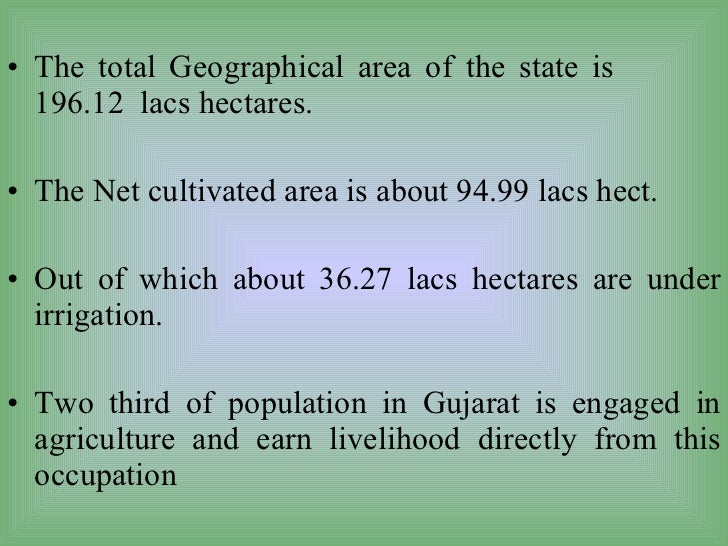 gujarat growth of agriculture Is the gujarat model of development a myth or a reality - download as pdf file (pdf), text file (txt) or read online is the gujarat model of development a myth or a reality.