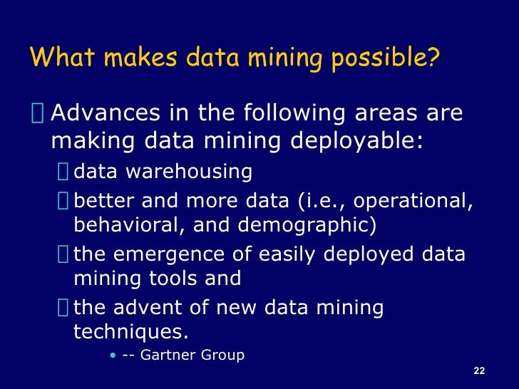 Difference between Data Mining and Data Warehouse