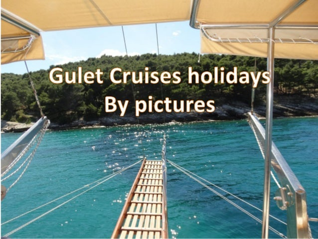 Gulet cruises by images